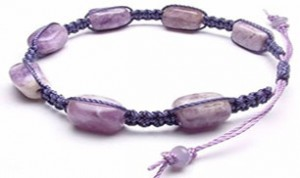 Diy Purple Bracelet