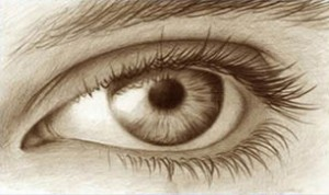 Amazing Freehand Eye