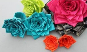 Colorful Paper Rose