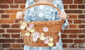 Diy Beautiful Flower Basket