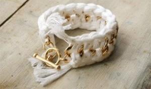 Diy White Bracelet