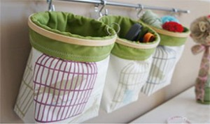 Diy Wall Fabric Container