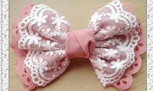 Very Beautiful Fabric Bow