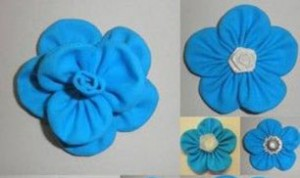 Diy Beautiful Blue Flower