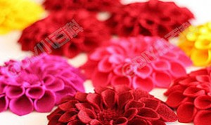 Diy Beautiful Red Flower
