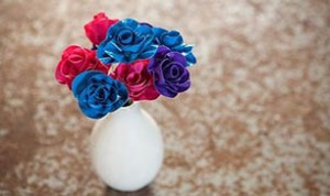 Diy Colorful Flower