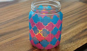 Beautiful Jar Craft