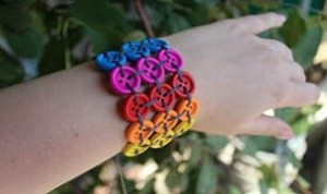 Beautiful Button Bracelet