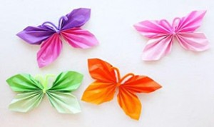 Diy Colorful Butterfly