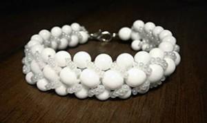 Beautiful White Bracelet