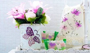 Diy Beautiful Purple Butterfly