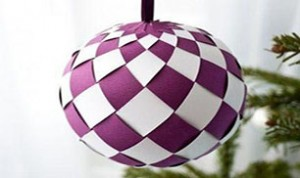 Diy Purple Decoration Ball