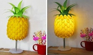 Beautiful Pineapple Lamp