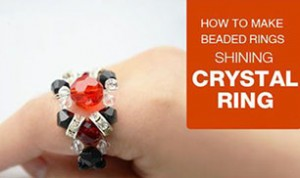 Diy Crystal Ring