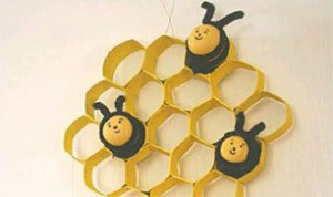 Cute Honeybee Craft