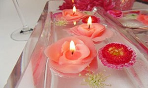 Diy Beautiful Candle Flowers