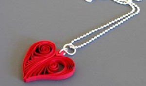 Diy Beautiful Heart Necklace