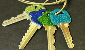Diy Beautiful Key Decoration