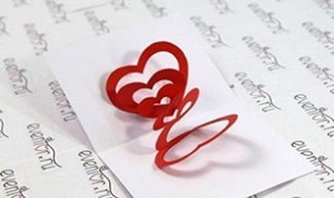 Beautiful Paper Heart Craft