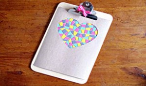 So Beautiful Heart-shaped Craft