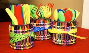 Diy Crayon Utensil Holders