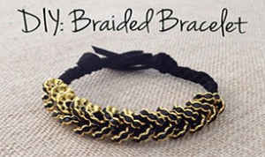 Diy Beautiful Braided Bracelet