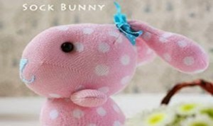 Diy Cute Sock Bunny