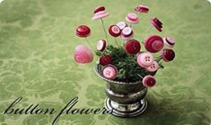 Diy Beautiful Button Flower