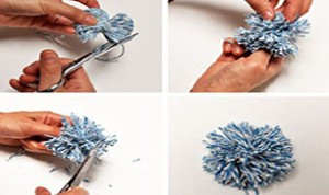 Diy Cute Yarn Pom Pom