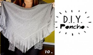 Diy Beautiful Poncho
