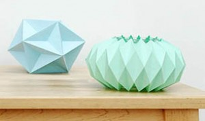 Paper Folding  Candle Holder