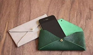 DIY Esay Leather Envelope Case