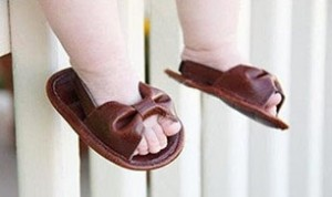 Easy Baby Slippers