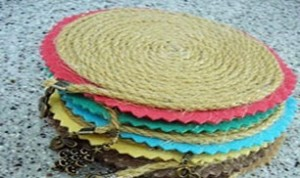 Diy Colorful Tablemat