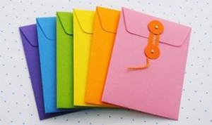 Diy Colorful Envelope