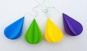 Beautiful Raindrop Craft