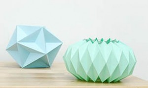 Paper Folding Candle Holders