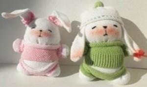 Diy Fabric Rabbits
