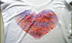 Painted Heart T-shirt