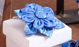 Diy Beautiful Blue Flower