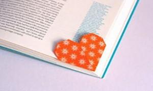 Easy Heart Bookmark