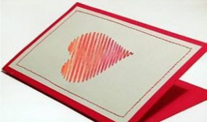 Beautiful Heart-shaped Card