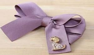 Diy Beautiful Purple Bow