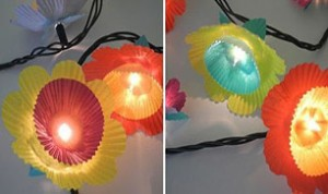 Beautiful Flower lamp