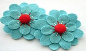 Beautiful Fabrics Flower