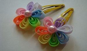 Diy Colorful Hair Clip