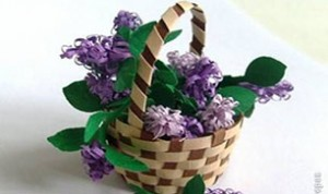 Diy Beautiful Purple Flower
