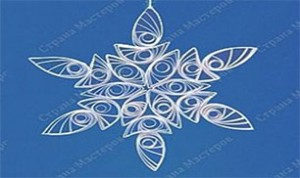 Diy Beautiful Snowflake