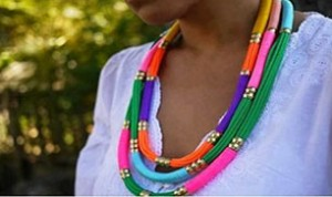 Diy Colorful Necklace