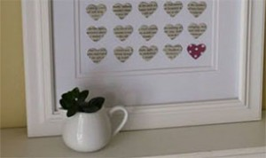 Beautiful Paper Heart Decoration